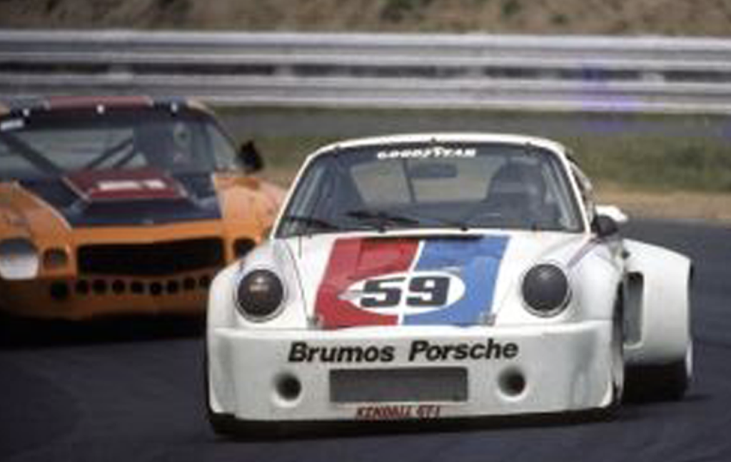 Brumos Porsche Race Car