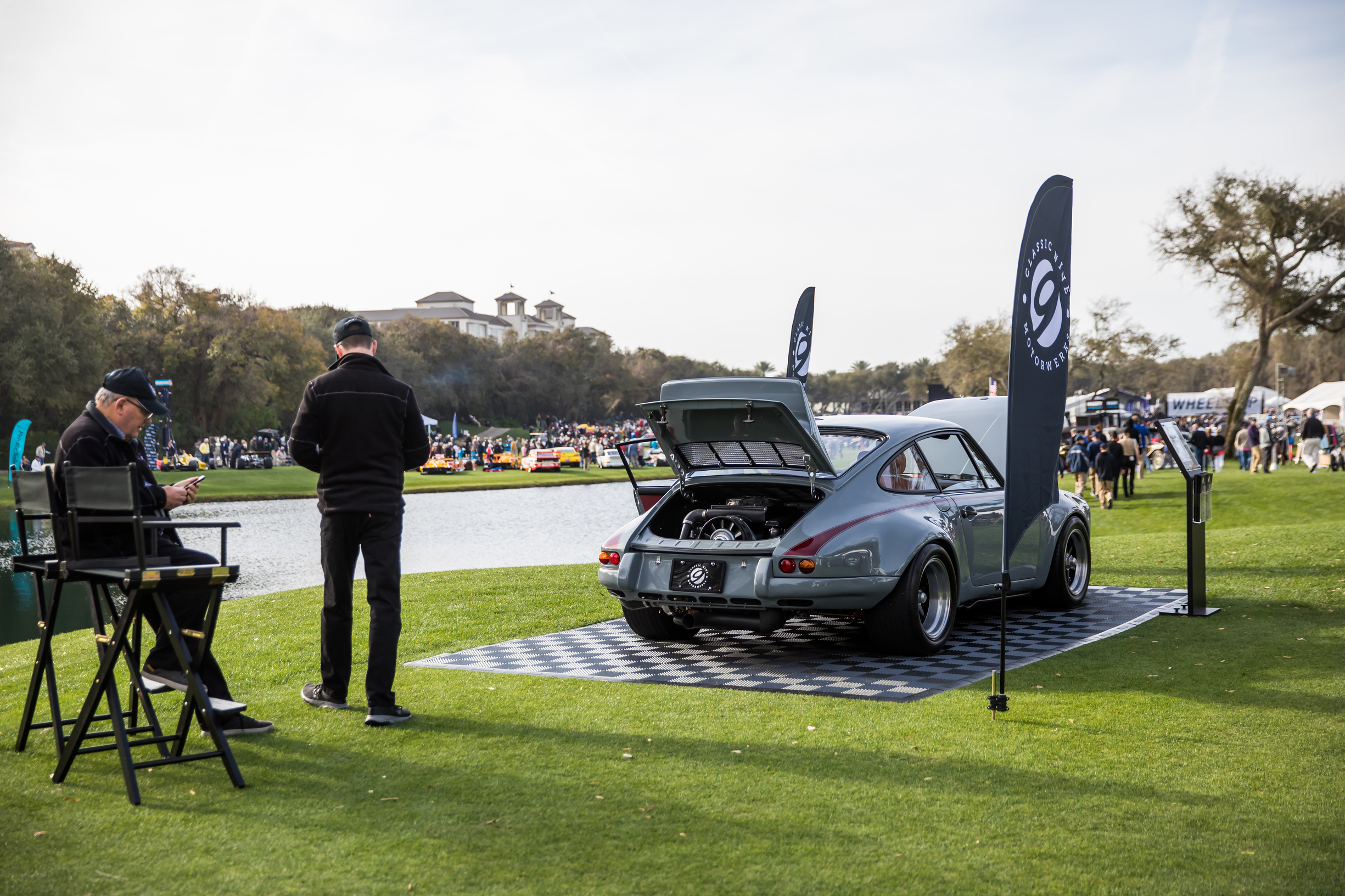 The C9 911 RS Turbo debuts at the Amelia Island Concours d'Elegance.
